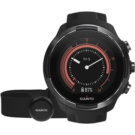 Suunto 9 with HR Belt , musta